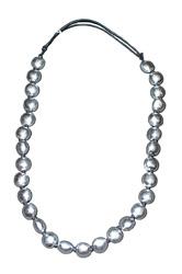 Collana palline in alluminio