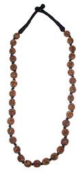Collana antichizzata lunga bronzo