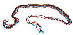 Cintura in perline e campanelli