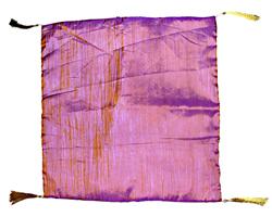 Copricuscino silk art groffato