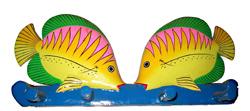 Appendino 4 Pomelli Pesce e Rana