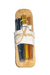 Incenso 30 Stik con portaincenso legno