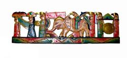 Decorazione Legno Elefante