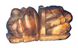 Fermalibro yogi in legno