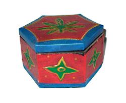 Box Foglia Esagonale Erba