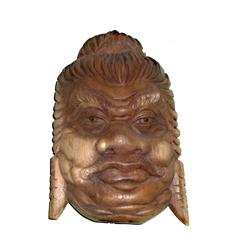 Maschera Legno Sumo Mahagony