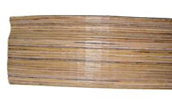 Tappeto/stuoia in listelli bambu