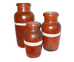 Barattolo Terracotta Sabbia