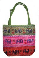 Borsa elefanti hary 3 strisce