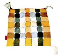 Cuscino Nareender cotone multicolor