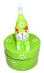 Scatola Color con Gatto