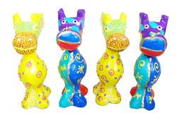 Giraffa Color Set 4 pz.