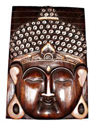 Pannello Faccia Buddha cm. 50 x 40