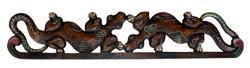 Appendiabito geko in legno