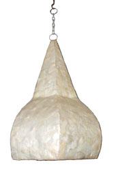 Lampadario Madreperla Stilizzato