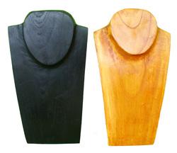 Espositore per collana in legno