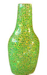 Lampada Bottiglia Resina Specchietti S