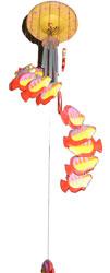 Acchiappasogni colorato pesci a chiocciola