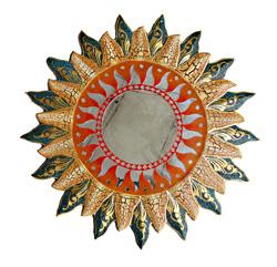 Specchio mosaico sole