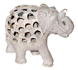 Animaletto in pietra saponaria