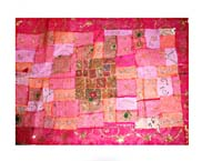 Patchwork sitara sary 150cm x 100cm